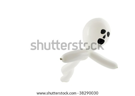 Balloon ghost