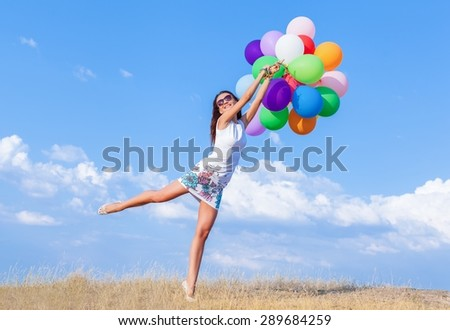 Balloon, Hot Air Balloon, Jumping.