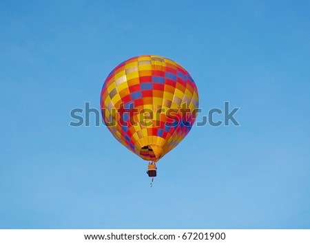 balloon in the sky, Balloon festival