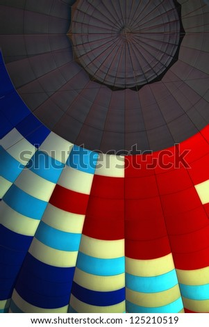 Balloon Interior Vertical - stock photo