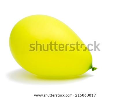 balloon on a white background - stock photo