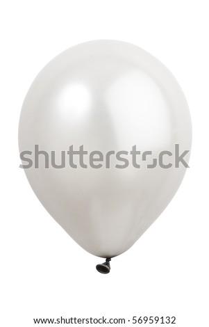 balloon on white background - stock photo