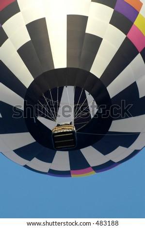 balloon seven - stock photo