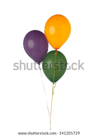 Balloons are notable celebration accessory made from latex in which light air is blown inside to make it float in air.