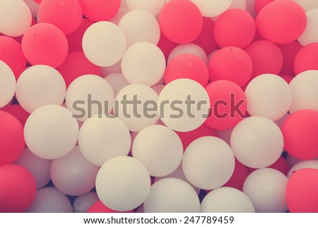 balloons filtered - stock photo