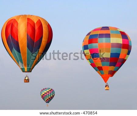 Balloons X - stock photo