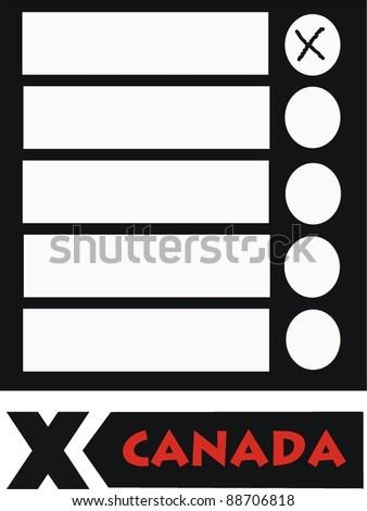 ballot - stock photo