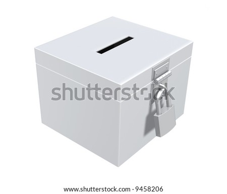 Ballot Box - stock photo