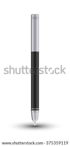 Ballpen design concept - stock photo