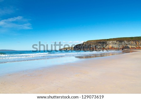 Ballybunion beach in Co. Kerry , Ireland - stock photo