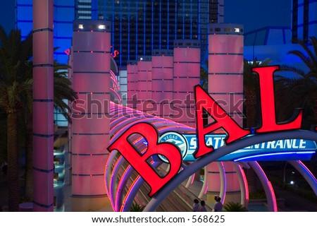 Ballys Resort Las Vegas USA - stock photo