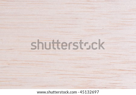 Balsa wood grain closeup for texture background - stock photo