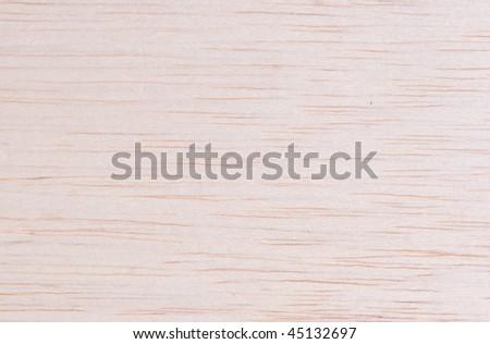 Balsa wood grain closeup for texture background - stock photo