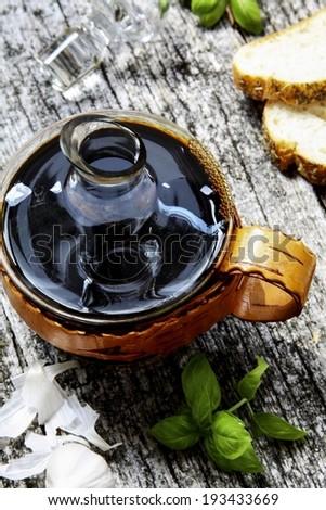Balsamic vinegar - stock photo