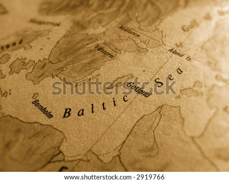 Baltic Sea - stock photo