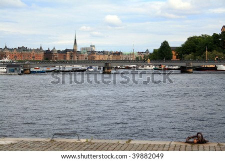 Baltic sea in Stockholm