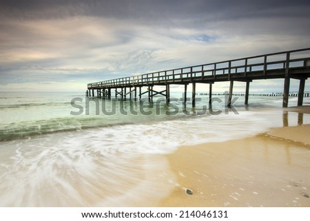 Baltic Sea, Poland / Baltic Sea. - stock photo