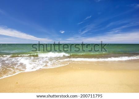 Baltic Sea, Poland./ Summer Day. - stock photo