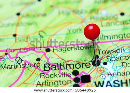 Maryland Map Stock Images RoyaltyFree Images Vectors - Us map baltimore maryland