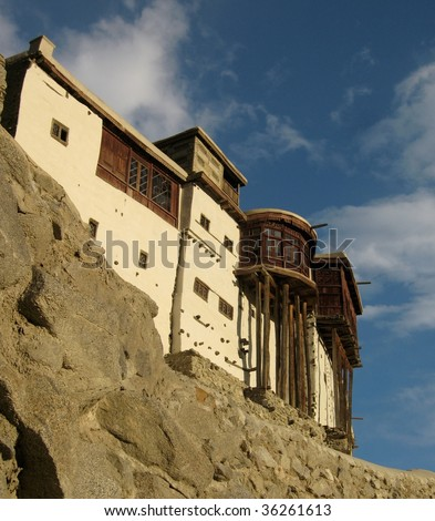 Baltit Fort, Pakistan - stock photo