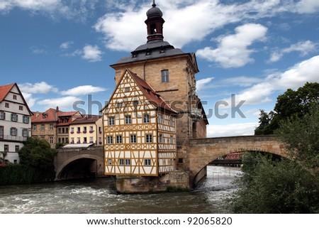 Bamberg, Bavaria, Germany - stock photo