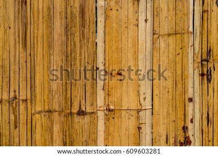 Bamboo bark plate texture background