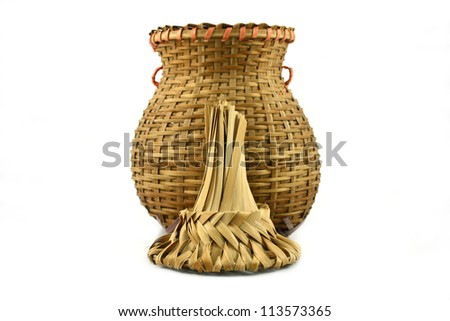 Bamboo basketry for the fish