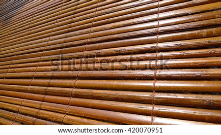 bamboo blind pattern background