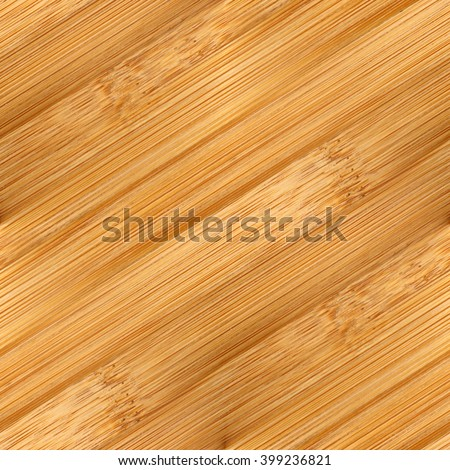 bamboo board wood background texture, diagonal lines seamless pattern - stock photo