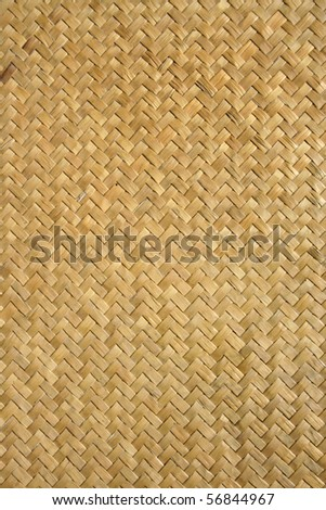 bamboo handicraft pattern - stock photo
