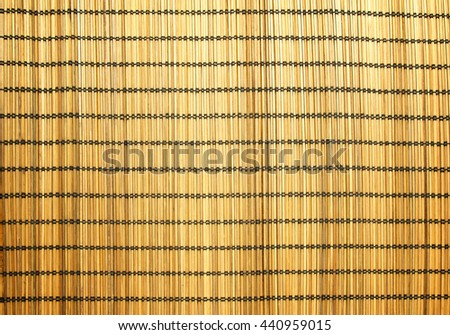 Bamboo mat for background - stock photo