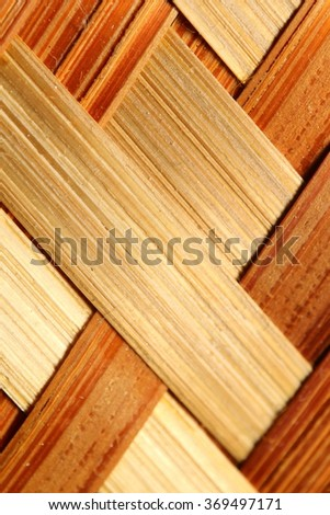 Bamboo mesh wall detail background