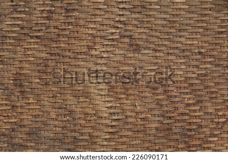 bamboo pattern and texture - stock photo