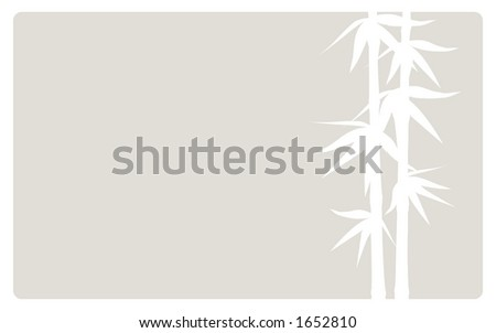 Bamboo shoots background