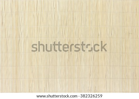 bamboo sushi mat texture japanese an chinese life style tradition - stock photo