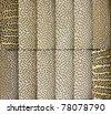bamboo texture background - stock photo