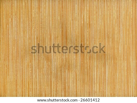 Bamboo texture - Background /High Res. Scan - stock photo