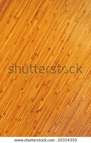 bamboo wall natural background - stock photo