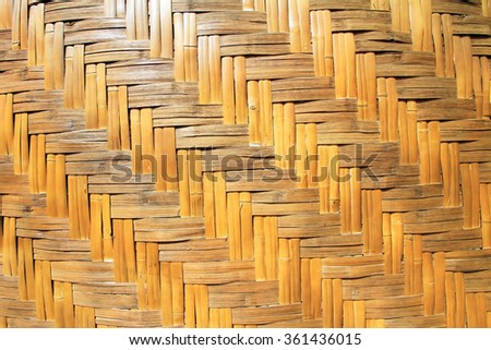 bamboo wall texture, background