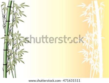 bamboo with background