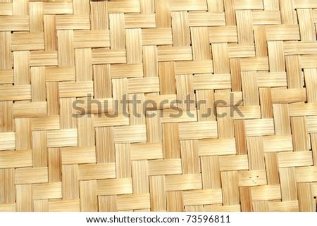 Bamboo wood texture - stock photo