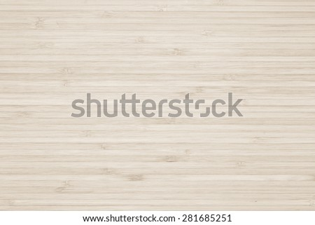 Bamboo wood texture background in sepia cream color tone