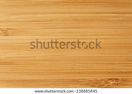 Bamboo wood texture, macro shot - stock photo