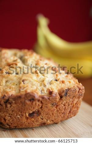 Banana bread - stock photo