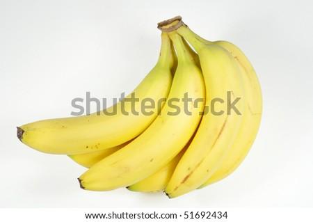 Bananas. February 2010. - stock photo