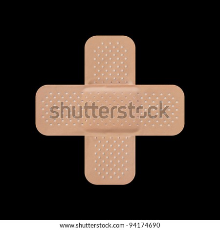 Band aid - stock photo