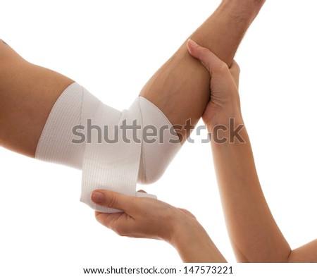 Bandage.Medical concept - stock photo