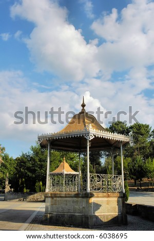 Bandstands - stock photo