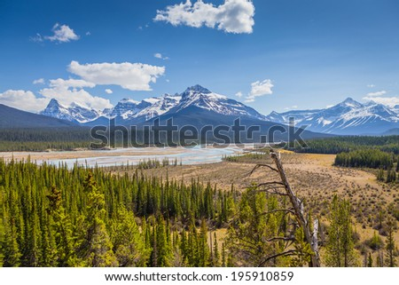 banff - stock photo