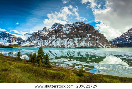 Banff National Park Alberta Canada - stock photo